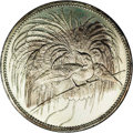 German New Guinea: , German New Guinea: German Protectorate 5 Marks 1894A, KM7, lightlytoned AU-UNC with uneven obverse toning and proof-like fields.Nonetheless a...