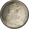 German States:Bavaria, German States: Bavaria. Karl Theodor Madonna Taler 1786-I SCH,KM260.3, D-1965, MS63 PCGS. Very lightly toned with great lusterand eye app...