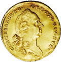 German States:Bavaria, German States: Bavaria. Karl Theodor gold Ducat 1781, KM261,Fr-255, VF-EF with small mount removed 12 o'clock and a slightlywavy flan. An...