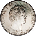 German States:Bavaria, German States: Bavaria. Ludwig I Taler 1835, KM412, an attractivevery proof-like Unc...
