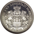 German States:Hamburg, German States: Hamburg. Free City 2 Marks 1902J, KM294, Proof 65 NGC. A brilliant white attractive example....