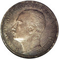 German States:Hesse-Darmstadt, German States: Hesse-Darmstadt. Ernst Ludwig 3 Marks 1910A, KM375, Proof 66 NGC, Ex Brand collection. Pleasant silver grey toning and a low...