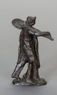 After JULES DALOU (French, 1838-1902) Worker with a Shovel, cast by Susse Frères, Paris, circa 1895