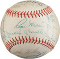 Autographs:Baseballs, 1966 New York Yankees Team Signed Baseball....