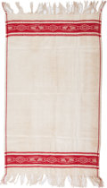 Political:Textile Display (pre-1896), George Washington: 1889 Linen Table Cloth....