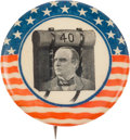 Political:Pinback Buttons (1896-present), William McKinley: 40 Rounds Button....