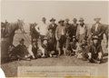 Political:Small Paper (1896-present), Theodore Roosevelt: 1906 Texas Wolf Hunt Large Format Photograph....