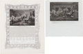 Political:Small Paper (pre-1896), Declaration of Independence: Two Handsome Engravings.... (Total: 2Items)