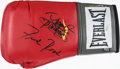 Boxing Collectibles:Memorabilia, Manny Pacquiao and Freddie Roach Multi Signed Boxing Glove. ...