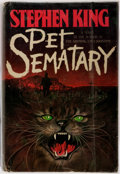 Books:Horror & Supernatural, Stephen King. Pet Sematary. Doubleday, 1983. Later printing. Octavo. Publisher's original binding and dust jacket. Foxing ar...