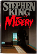 Books:Horror & Supernatural, Stephen King. Misery. Viking Press, 1987. First edition.Octavo. Publisher's original binding and dust jacket. P...