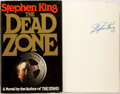 Books:Horror & Supernatural, Stephen King. SIGNED. The Dead Zone. Viking Press, 1979. First edition. Signed by King on the FFEP. Octavo. ...