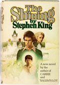 Books:Horror & Supernatural, Stephen King. The Shining. Doubleday, 1977. Later printing,possibly Book Club. Octavo. Green cloth and price-cl...