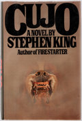 Books:Horror & Supernatural, Stephen King. SIGNED. Cujo. Viking Press, 1981. First edition. Signed and dated by the author on the FFEP. Octav...