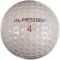 Political:Presidential Relics, John F. Kennedy: Personally-Owned Golf Ball....