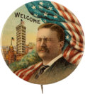 Political:Pinback Buttons (1896-present), Theodore Roosevelt: One-Day Event Button....