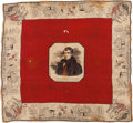 Political:Textile Display (pre-1896), William Henry Harrison: Outstanding Silk Bandanna. ...