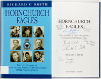 Richard C. Smith. SIGNED BY THE AUTHOR AND FIVE WWII RAF FIGHTER PILOTS. Hornchurch Eagles. The Life Stories of