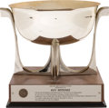 """Football Collectibles:Others, 1981 Ray Nitschke """"Red Smith Sports Award"""" Trophy. ..."""