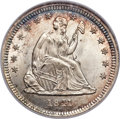 Seated Quarters, 1841-O 25C MS67 NGC. Briggs 3-D. CAC....