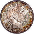 Barber Quarters, 1901-S 25C MS67 PCGS. CAC....