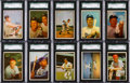 Baseball Cards:Sets, 1953 Bowman Color Baseball Complete Set (160). ...