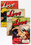 Golden Age (1938-1955):Romance, Love Experiences Group (Ace, 1950-56) Condition: Average FN....(Total: 24 Comic Books)