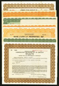 Miscellaneous:Other, Property and Investment Certificates.. ... (Total: 20 items)