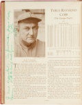 Autographs:Others, 1933 Who's Who in Baseball Signed by 138 Including 31 Hall of Famers!...