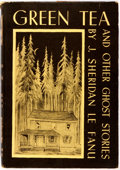 Books:Horror & Supernatural, J. Sheridan Le Fanu. Green Tea and Other Ghost Stories. Sauk City: Arkham House, 1945. First edition, one of 2,000 c...