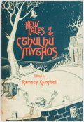 Books:Horror & Supernatural, Ramsey Campbell, editor. New Tales of the Cthulhu Mythos. Sauk City: Arkham House, 1980. First edition, first printi...