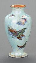 Ceramics & Porcelain, British:Modern  (1900 1949)  , AN ENGLISH FAIRYLAND LUSTRE PORCELAIN VASE, Designed by DaisyMakeig-Jones, Wedgwood, Burslem (Stoke-on-Trent), Staffordshir...