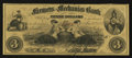 Obsoletes By State:Indiana, Cannelton, IN - Farmers and Mechanics Bank $3 Aug. 25, 1858. ...