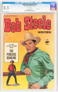 Golden Age (1938-1955):Western, Bob Steele Western #3 (Fawcett Publications, 1951) CGC VF+ 8.5 White pages....