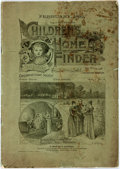 Books:Americana & American History, [Americana]. Children's Home Finder, Vol. 1, No. 6. AMonthly Journal Published in the Interests of Child-Saving...