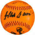 Baseball Collectibles:Balls, 500 Home Run Club Multi Signed Baseball (11 Signatures)....