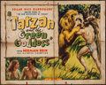 "Movie Posters:Adventure, Tarzan and the Green Goddess & Other Lot(Burroughs-Tarzan-Enterprise, 1938). Half Sheet (22"" X 28""), TitleLobby Cards (2) ... (Total: 9 Items)"