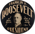 Political:3D & Other Display (1896-present), Franklin D. Roosevelt: Superlative Tire Cover....