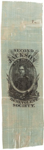 Political:Ribbons & Badges, Andrew Jackson: Early Association Piece....