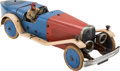 Transportation:Automobilia, 1930's Meccano No.2 Constructor Tinplate Clockwork Model Car Toy...