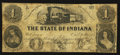 Obsoletes By State:Indiana, Marion, IN - Ohio, Indiana & Illinois Rail Road Company $1 circa 1850's. ...