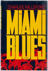Charles Willeford. Miami Blues. New York: St. Martin's Press, [1984]. First edition, first prin