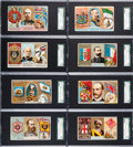"""Non-Sport Cards:Sets, 1888 N126 Duke """"Rulers, Flags, and Coats of Arms"""" Complete Set(51). ..."""