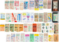 Baseball Collectibles:Tickets, 1929-90 World Series Ticket Stubs Near Run Lot of 47....