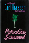 Books:Social Sciences, Carl Hiaasen. SIGNED. Paradise Screwed. New York: Putnam's,[2001]. First edition, first printing. Publisher's bindi...
