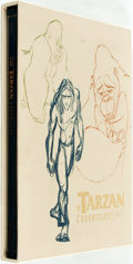 Books:Art & Architecture, [Walt Disney]. SIGNED/LIMITED. The Tarzan Chronicles. Hyperion, 1999. First edition, first printing. Limited to 16...