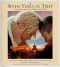 Books:Literature 1900-up, [Brad Pitt]. SIGNED. Jean-Jacques Annaud, Becky Johnston andLaurence B. Chollet. Seven Years in Tibet. Screebplay andS...