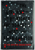 Books:Mystery & Detective Fiction, Stieg Larsson. The Girl Who Kicked the Hornet's Nest. New York: Knopf, 2010. First American edition. Publisher's bin...