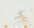 Animation Art:Production Drawing, The Autograph Hound Donald Duck Production Drawing AnimationArt (Walt Disney, 1939)....