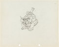 Animation Art:Production Drawing, Trader Mickey Production Drawing Animation Art (Walt Disney,1932)....